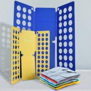 Deski do składania prania XXL, 2 szt., Niebieski, żółty
