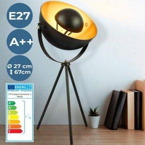Lampa stołowa ze stojakiem - EEK A ++ do E, wysokość 135 cm