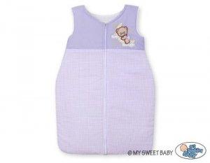 Śpiworek niemowlęcy- Dobranoc fioletowe
