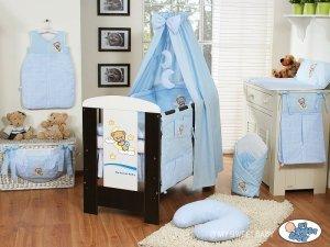 Baldachim z tkaniny- Dobranoc niebieskie