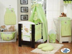 Baldachim z tkaniny- Dobranoc zielone