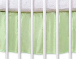 Falbanka maskująca 140x70cm- Wiszące serduszka zielone