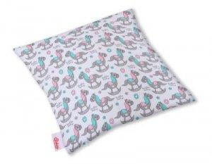 Poszewka na poduszkę - koniki na biegunach