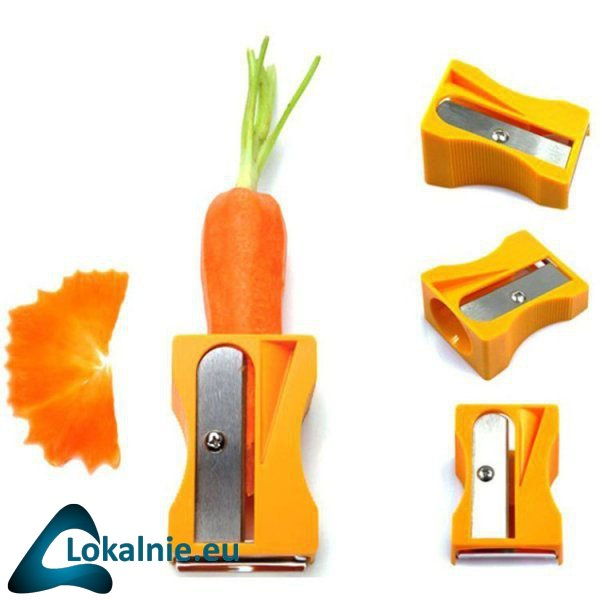 Temperówka i obieraczka do marchwi i warzyw
