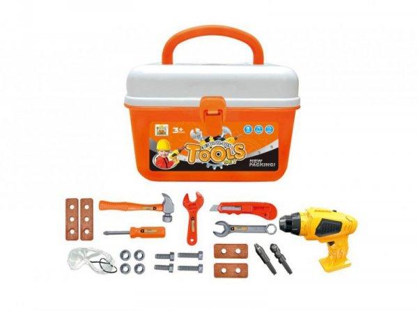 G21 Zestaw narzędzi do zabawy z wiertarką w teczce