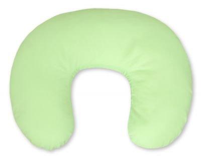 Poduszka rogal- Fasolka do karmienia- Wiszące serduszka zielone