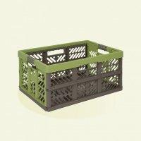 Kosz składany Profi-Klappbox 45L zielony / szary
