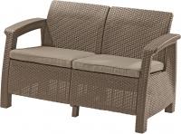 Meble ogrodowe sofa 2-osobowa CORFU cappucino/piasek