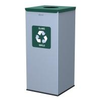 Kosz do segregacji odpadów EKO SQUARE 60L szkło