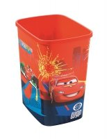 Kosz na śmieci 25L Flip Bin bez pokrywy Cars