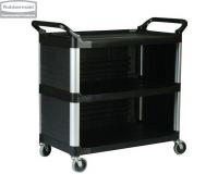 Wózek X-tra™ zabudowany z 3 stron black
