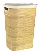 Kosz na pranie INFINITY 59L bambus