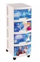 Regał z szufladami 4 x 10L Frozen