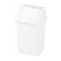 Kosz na śmieci Click-It 25L biały