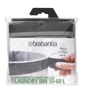 Wymienny worek na pranie 60L Grey