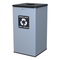 Kosz do segregacji odpadów EKO SQUARE 90L odpady zmieszane