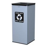 Kosz do segregacji odpadów EKO SQUARE 60L odpady zmieszane