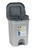 Kosz do segregacji śmieci Step&Close DUO