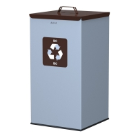 Kosz do segregacji odpadów EKO SQUARE 90L bio