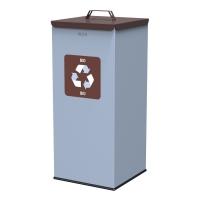 Kosz do segregacji odpadów EKO SQUARE 60L bio