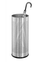 Stojak na parasole 28,5L srebrny