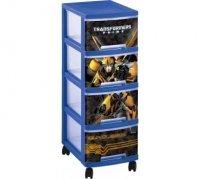 Regał z szufladami 4 x 10L Transformers