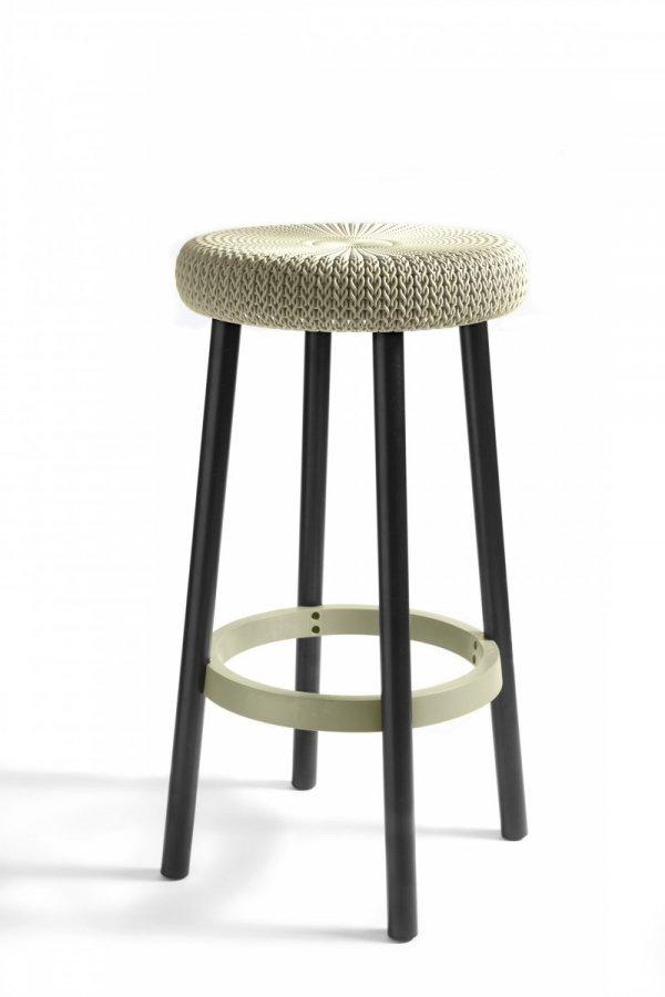 stołki barowe curver knit