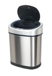 Bezdotykowy kosz na odpady 42l owalny