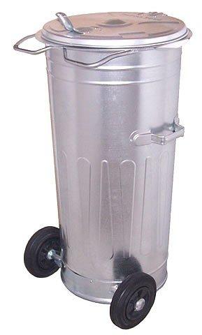 Pojemnik na odpady 110L z pokrywą na kółkach
