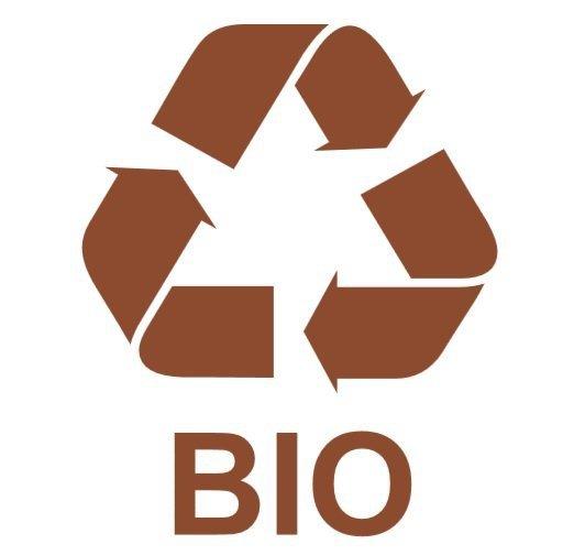 Etykieta do segregacji odpadów BIO