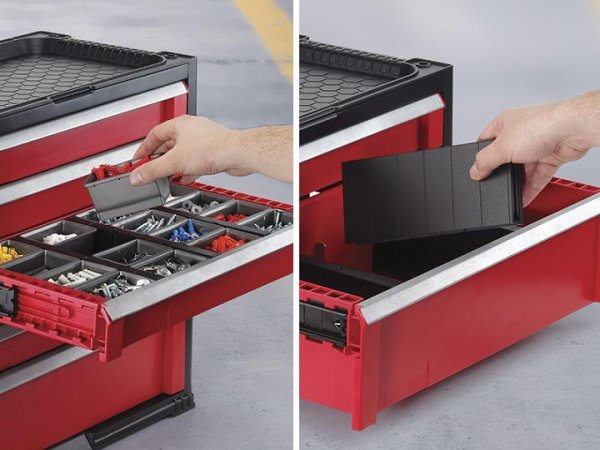 Regał 5 szuflad Tool Chest Set
