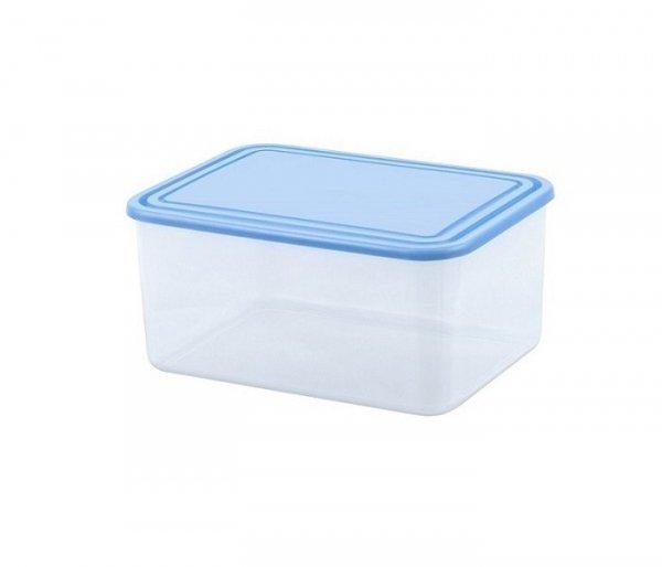 Pojemnik do przechowywania żywności prostokątny 1,2L niebieski