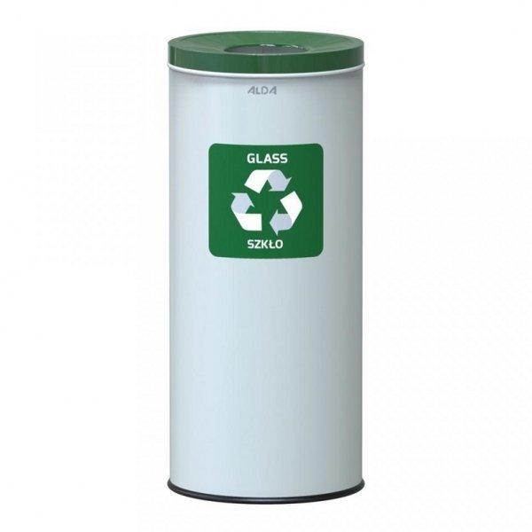 Kosz do segregacji odpadów EKO NORD 45L szkło