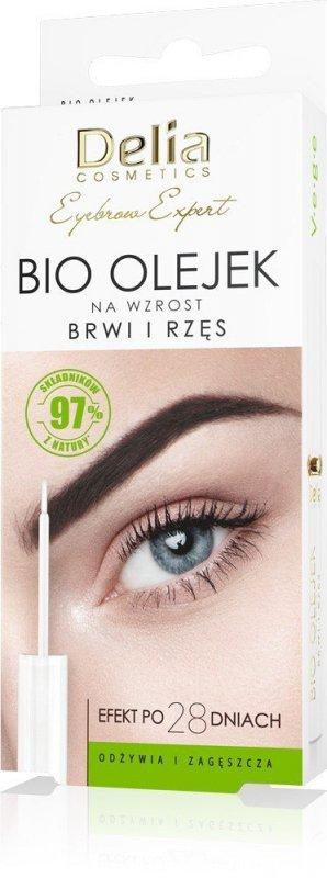 Delia Cosmetics Eyebrow Expert Bio Olejek na wzrost brwi i rzęs