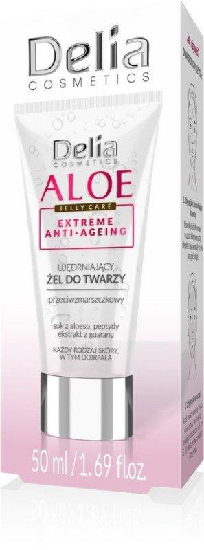 Delia Cosmetics Aloe Jelly Care Ujędrniający Żel do twarzy 50ml