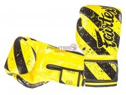 Rękawice bokserskie BGV14Y GRUNGE ART - MID - 1980 Fairtex