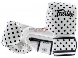 Rękawice bokserskie BGV14WP VINTAGE ART-POLKA DOT Fairtex