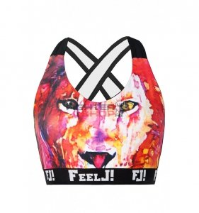 Top damski PUSH-UP LION FeelJ!