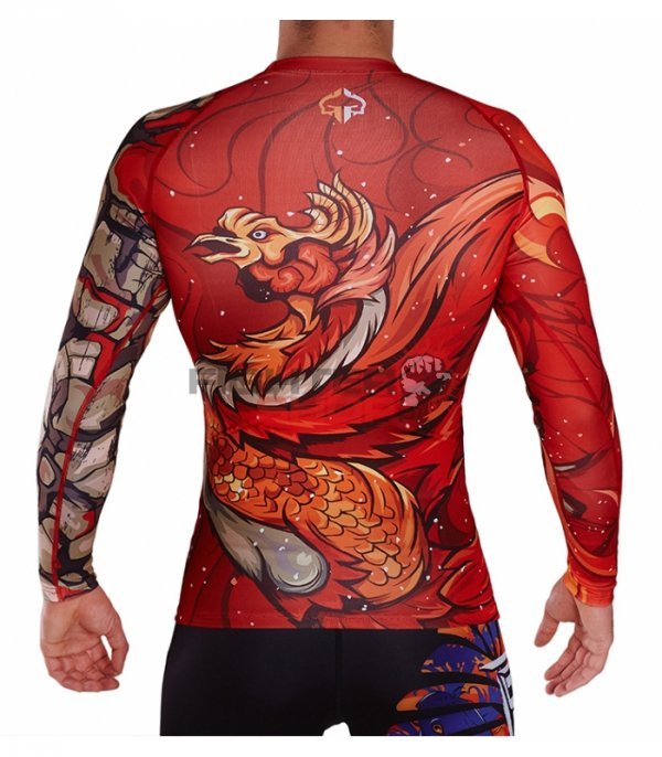 Rashguard męski VERMILION BIRD Ground Game