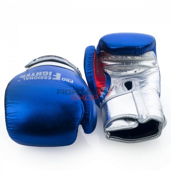 Rękawice bokserskie MONTANA METALLIC Professional Fighter