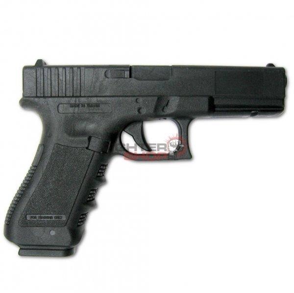 Pistolet gumowy GLOCK 17 Bushi