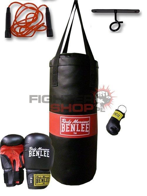 Worek bokserski dla dzieci zestaw PUNCHY Benlee