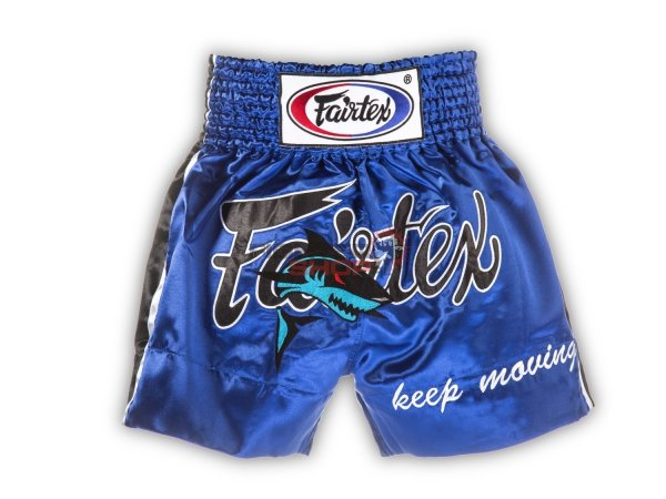 Spodenki tajskie BLUE SHARK Fairtex