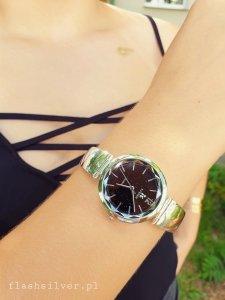 Zegarek ze srebra kod 830