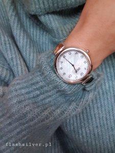 Zegarek ze srebra kod P01 PREMIUM