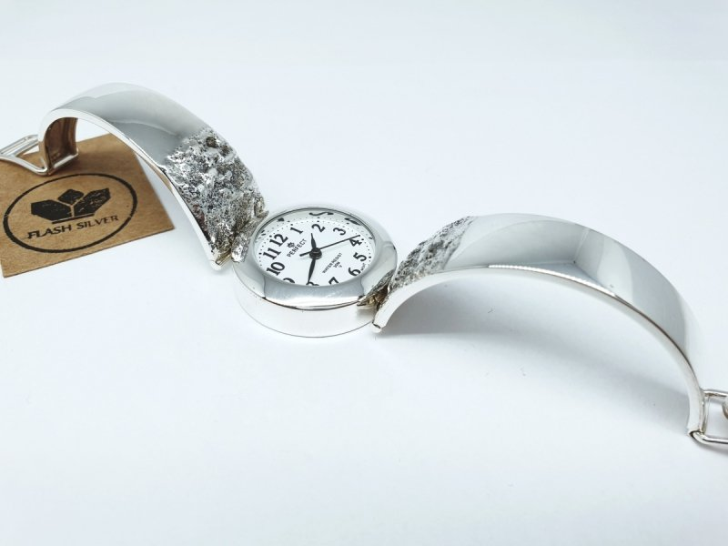 zegarek ze srebra