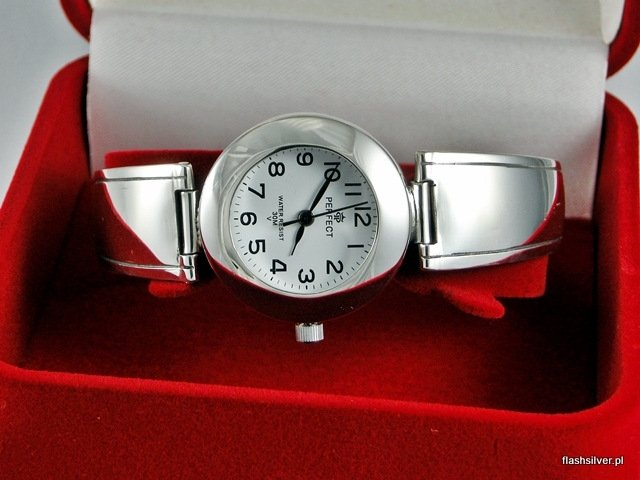 zegarek ze srebra próba 925