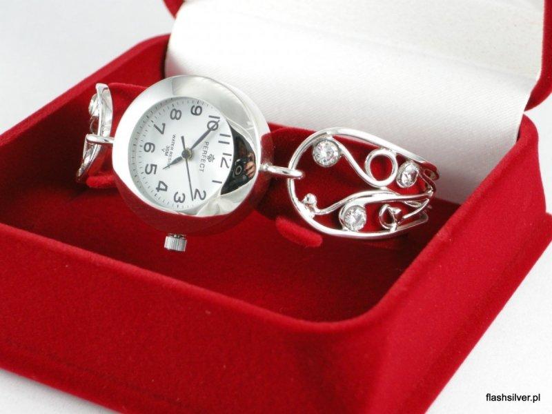 zegarek srebrny 925