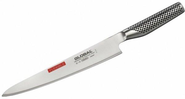 Nóż do filetowania elastyczny 24 cm Global G-18