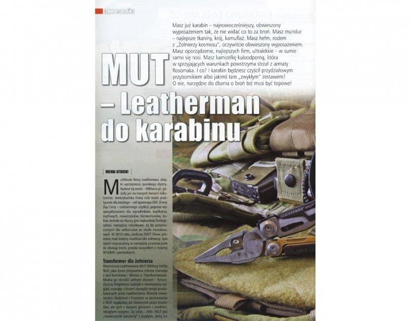 Multitool Leatherman MUT Black (850022N)